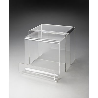 Loft Clearwater 2 Piece Nesting Tables by Butler
