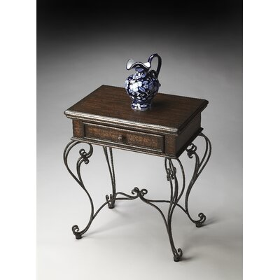 Metalworks End Table by Butler