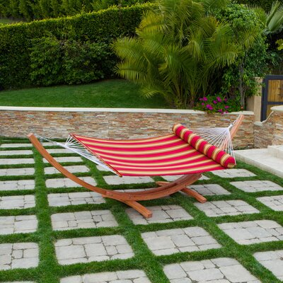 Cantina Wood Arc Hammock with Stand by RST Brands Outdoor