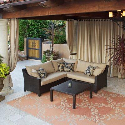 RST Brands Deco 4 Piece Sectional Sofa Set