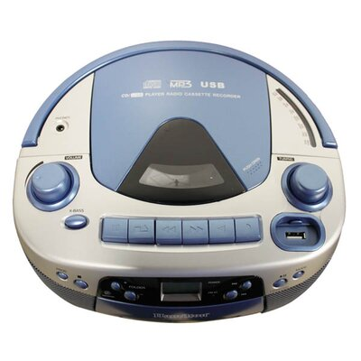 Hamilton Electronics CD / USB / MP3 Listening Center with Deluxe Headsets