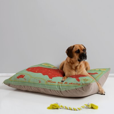 Anderson Design Group Explore America Pet Bed by DENY Designs