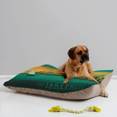 Anderson Design Group Lakefront Chicago Pet Bed by DENY Designs