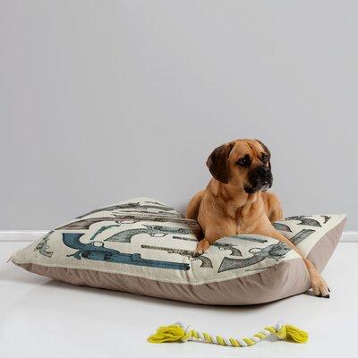 Belle13 Vintage Pistols Pet Bed by DENY Designs