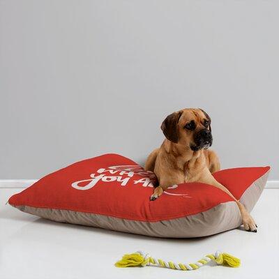 Kal Barteski Love Red Pet Bed by DENY Designs
