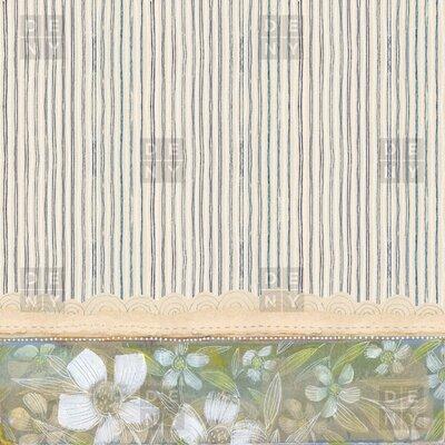 DENY Designs Cori Dantini Stripes Shower Curtain