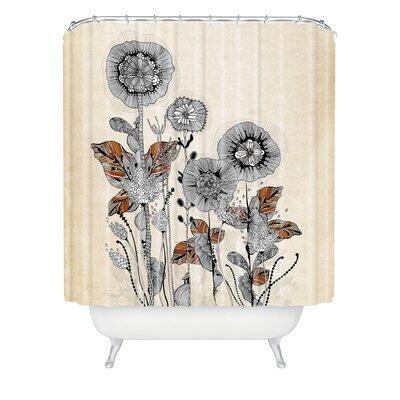 DENY Designs Iveta Abolina Floral 3 Shower Curtain