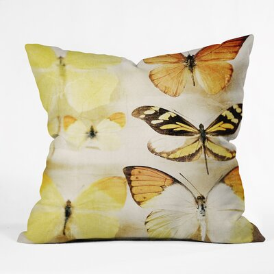 Chelsea Victoria Sherbert Dreams Throw Pillow by DENY Designs