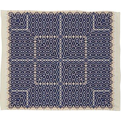 Ballack Art House Greece Throw Blanket by DENY Designs