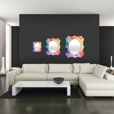 DENY Designs Rosie Brown Color My World Quatrefoil Mirror