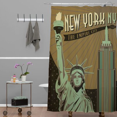 DENY Designs Anderson Design Group New York Shower Curtain