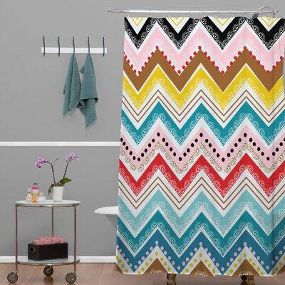 DENY Designs Khristian A Howell Nolita Chevrons Shower Curtain