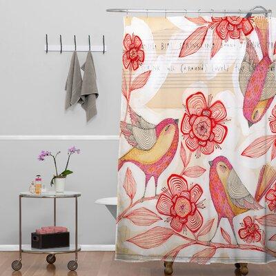 DENY Designs Cori Dantini Sprinkling Sound Shower Curtain