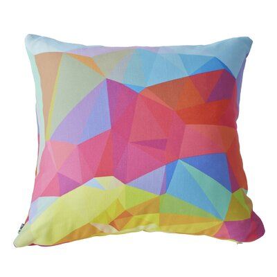 Three of the Possessed Crystal Crush Throw Pillow by DENY Designs