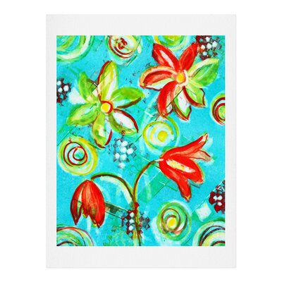Tangerine Tango by Laura Trevey Painting Print by DENY Designs
