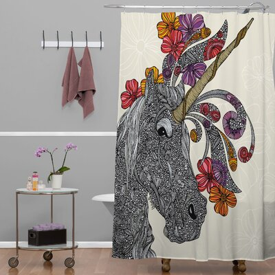 DENY Designs Valentina Ramos Unicornucopia Shower Curtain