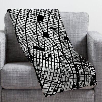 DENY Designs CityFabric Inc NYC Throw Blanket