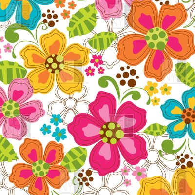 DENY Designs Khristian A Howell Kaui Blooms Shower Curtain