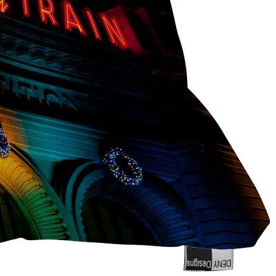 DENY Designs Bird Wanna Whistle Union Station Throw Pillow