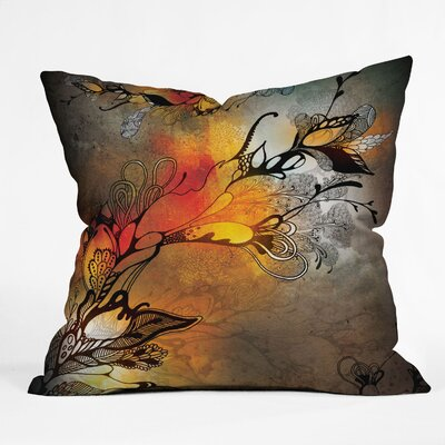 Iveta Abolina Before The Storm Throw Pillow by DENY Designs