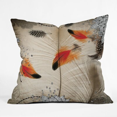 DENY Designs Iveta Abolina Feather Dance Throw Pillow