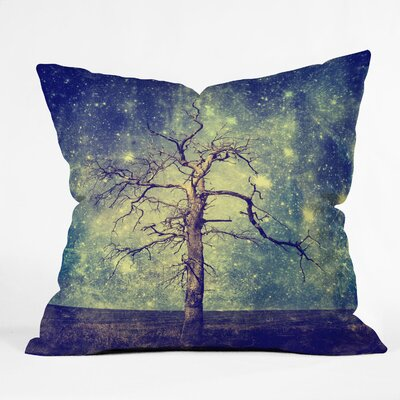 Belle13 As Old as Time Woven Throw Pillow by DENY Designs