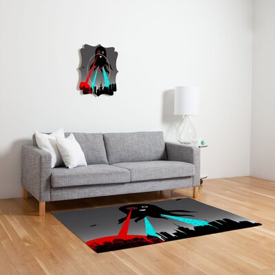 DENY Designs Brandon Dover Yay Novelty Area Rug