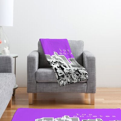 DENY Designs Bird Ave Los Angeles Throw Blanket
