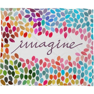 Garima Dhawan Imagine 1 Throw Blanket by DENY Designs