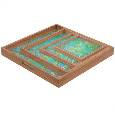 DENY Designs Stephanie Corfee Secret Garden Square Tray