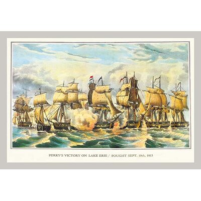 Perry's Victory on Lake Erie by Currier & Ives Photographic Print by Buyenlarge