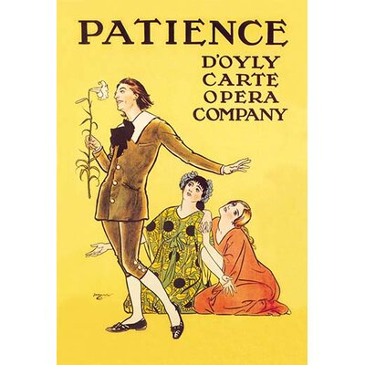 Patience: D'Oyly Carte Opera Company by Henry Matthew Brock Vintage Advertisement by Buyenlarge