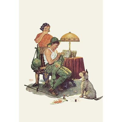 Military Repairs Vintage Advertisement by Buyenlarge