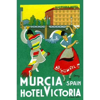 'Murcia Hotel Valencia Spain' by Garay Graphic Art by Buyenlarge