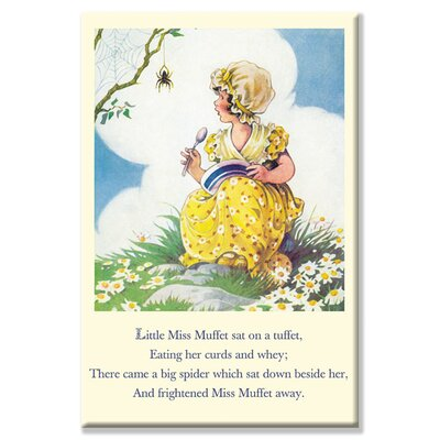Buyenlarge Little Miss Muffet Vintage Advertisement on Wrapped Canvas