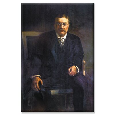 Buyenlarge Teddy Roosevelt Painting Print on Wrapped Canvas
