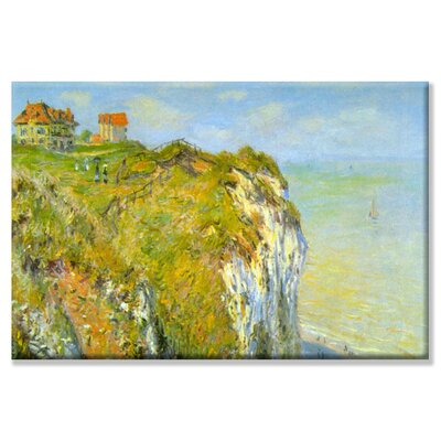 Buyenlarge Cliffs Painting Print on Wrapped Canvas