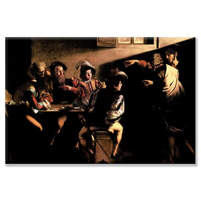 Buyenlarge The Calling of Saint Mathew by Michelangelo Caravaggio Painting Print on Wrapped Canvas