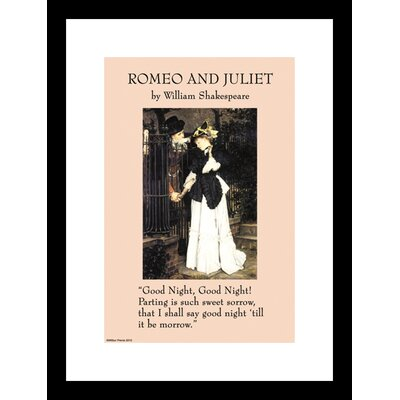 Buyenlarge Romeo and Juliet Framed Graphic Art