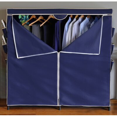 "18"" Deep Wardrobe Organizer with Non-Woven Cover Product Photo"