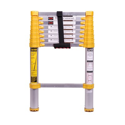 Xtend Climb 8 5 Ft Aluminum Telescoping Extension Ladder