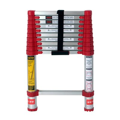 Xtend+Climb 10.5 ft Aluminum Telescoping Extension Ladder with 225 lb. Load Capacity