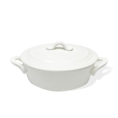 White Basics 3.5-qt. Oval Casserole by Maxwell & Williams