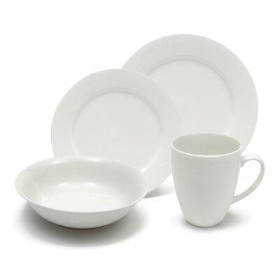 White Basics Providence 16 Piece Dinnerware Set by Maxwell & Williams