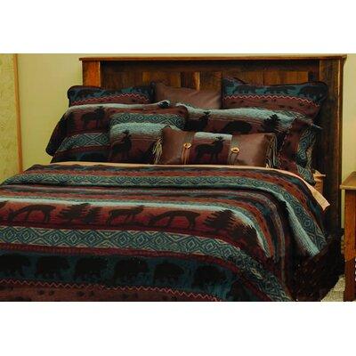 Deer Bedspread by Wooded River