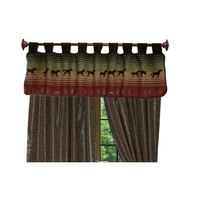 """Wooded River Mustang Canyon 60"""" Curtain Valance"""