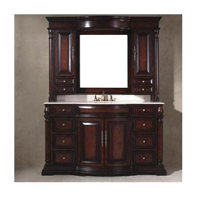 "Egwene 62"" Single Bathroom Vanity Set Product Photo"