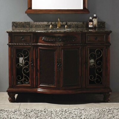 "Classico 53"" Single Bathroom Vanity Set Product Photo"