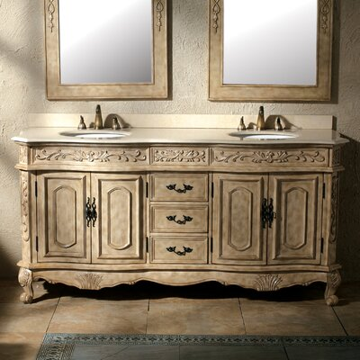 "Classico 72"" Double Bathroom Vanity Set Product Photo"