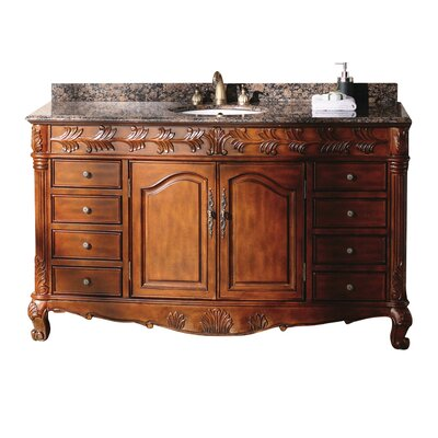 "Classico 60"" Single Bathroom Vanity Set Product Photo"